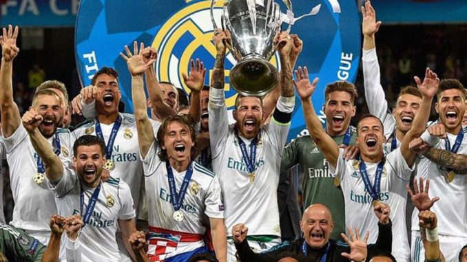 Real Madrid yegukanye igikombe cya 13 cya UEFA Champions league-Amafoto.  May 26 9e32c7b73dcec