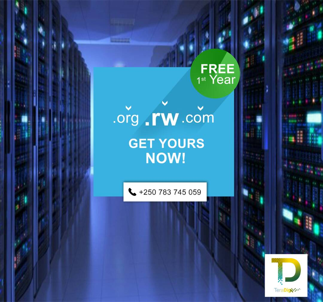 Free domain name by Teradig