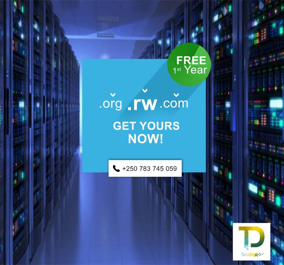 Free domain name by Teradig