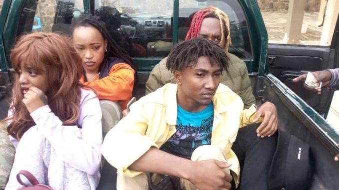Umuhanzi Bushali na bagenzi be bafunguwe - Teradig News