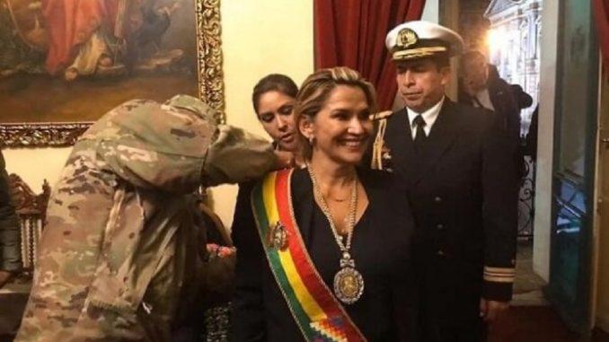 Madame Jeanine Anez niwe ugiye kuyobora Bolivia by'agateganyo ...